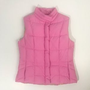 Lilly Pulitzer Down Puffer Vest - Bubblegum Pink S
